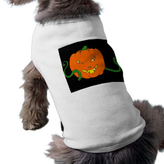 Halloween pumpkin Dog Costume Tee