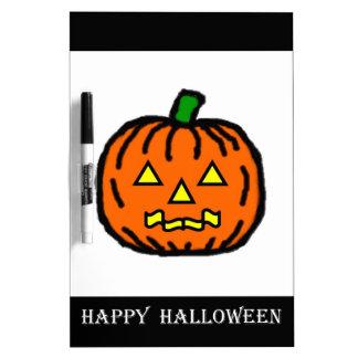 Halloween Pumpkin Dry Erase Whiteboards