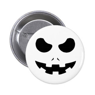 halloween pumpkin evil face smile horror scary buttons