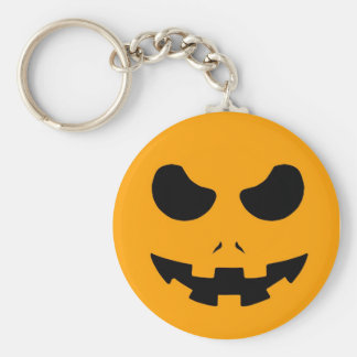halloween pumpkin evil face smile horror scary keychains