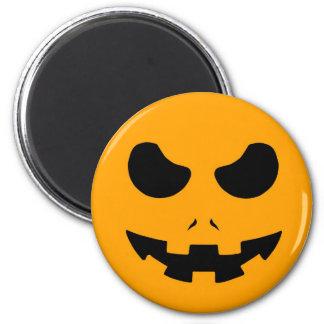 halloween pumpkin evil face smile horror scary fridge magnets