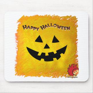 Halloween Pumpkin Face 2 Mouse Pads