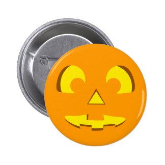 Halloween Pumpkin Face Pin