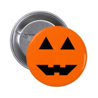 Halloween Pumpkin Face Buttons
