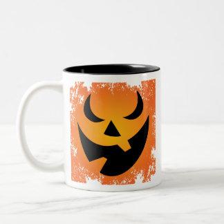 Halloween Pumpkin Face Coffee Mug