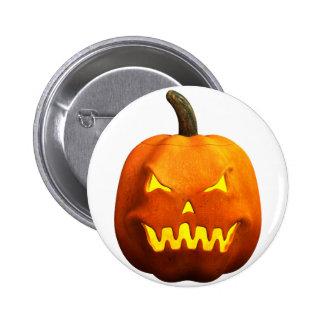 Halloween Pumpkin Face - Evil Pin