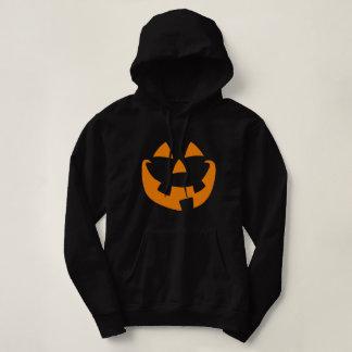 Halloween Pumpkin Face Hoodie