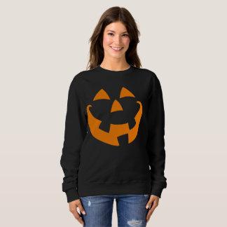 Halloween Pumpkin Face Sweatshirt