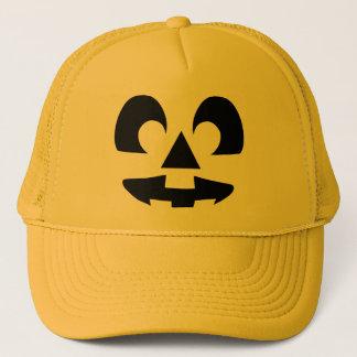 Halloween Pumpkin Face Trucker Hat