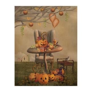 Halloween Pumpkin Feast Fantasy Art