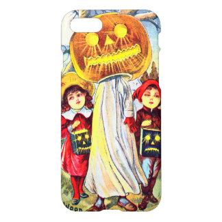 Halloween Pumpkin Ghost iPhone 7 Case