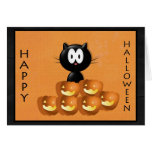 Halloween Pumpkin Greeting Card!
