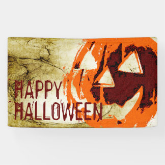 Halloween Pumpkin - grunge style + your ideas Banner