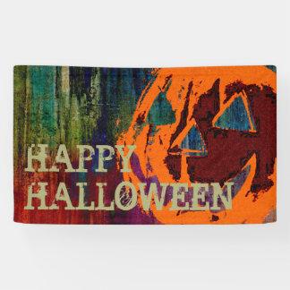 Halloween Pumpkin - grunge style + your ideas Banner