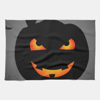 Halloween Pumpkin Hand Towel