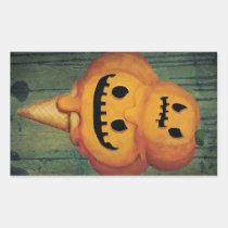 artsprojekt, pumpkin head, jack o lantern, ice cream gift, trick or treat, halloween ice cream, halloween gift, ice cream, pumpkin, halloween, spooky, scary, halloween present, halloween design, halloween idea, halloween dessert, halloween pumpkin, ice cream present, pumpkin gift, pumpkin present, pumpkin ice cream, Sticker with custom graphic design