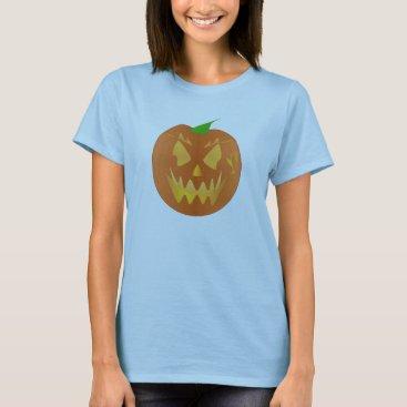 Halloween Themed Halloween Pumpkin In Lilac T-Shirt