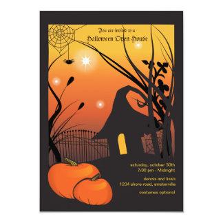 Halloween Pumpkin Invitation