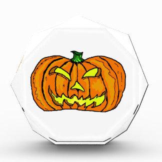 Halloween Pumpkin Jack-o -Lantern Award