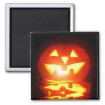 halloween pumpkin jack-o-lantern fridge magnet