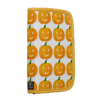 Halloween Pumpkin Jack-o -Lantern Folio Planners