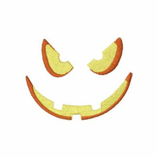 Halloween Pumpkin Jack-O-Lantern Polo Shirt