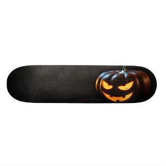 Halloween Pumpkin Jack-O-Lantern Spooky Skateboard
