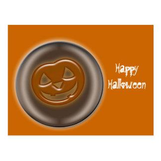 Halloween Pumpkin, Jack O'Lantern Post Cards