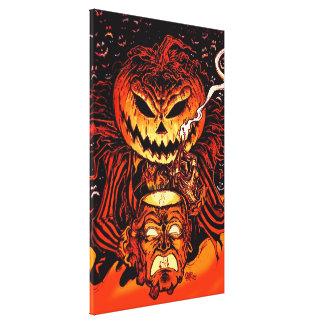 Halloween Pumpkin King Canvas Print