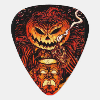 Halloween Pumpkin King Guitar Pick