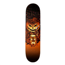 Halloween Pumpkin King Skateboard Deck
