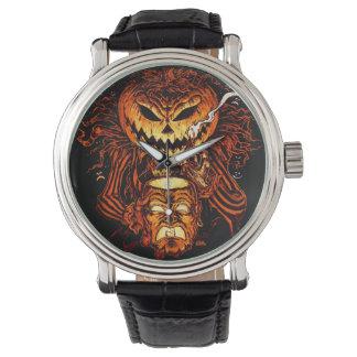 Halloween Pumpkin King Watch