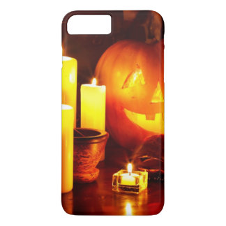 Halloween pumpkin lantern iPhone 8 plus/7 plus case