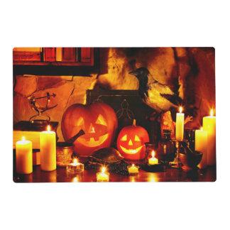 Halloween Pumpkin Lantern Placemat