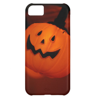 Halloween Pumpkin LightingiPhone4 Barely There Cover For iPhone 5C