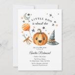 """Halloween Pumpkin Little Boo Baby Shower Invitation<br><div class=""""desc"""">Halloween Pumpkin Little Boo Baby Shower Invitation</div>"""