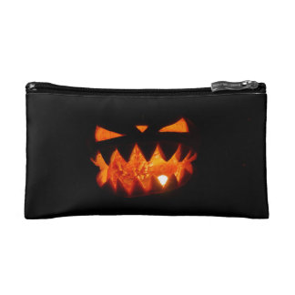 Halloween Pumpkin Makeup Bag