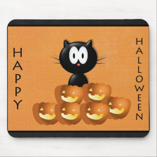 Halloween Pumpkin Mouse Pad