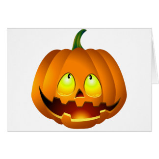 Halloween Pumpkin Nice Card