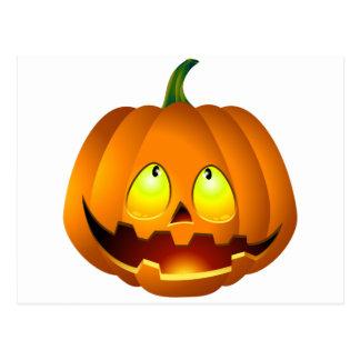 Halloween Pumpkin Nice Postcard