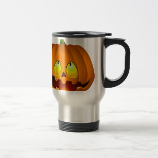 Halloween Pumpkin Nice Travel Mug