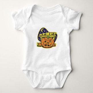 Halloween Pumpkin Patch Baby Bodysuit