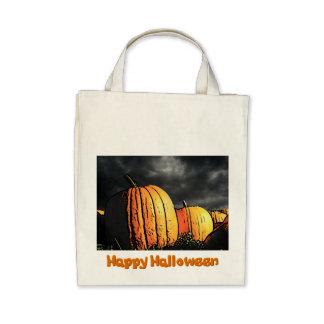 Halloween Pumpkin Patch Canvas Bag