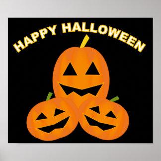 Halloween Pumpkin Patch Poster