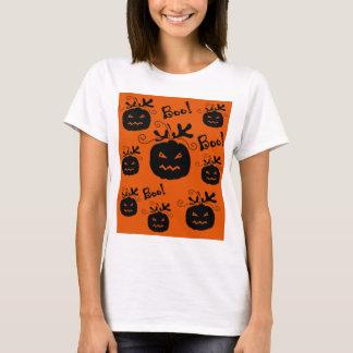 Halloween pumpkin pattern 3 T-Shirt