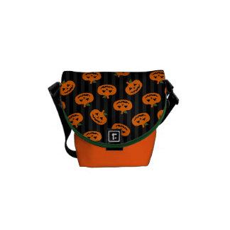 Halloween Pumpkin Pattern Courier Bag