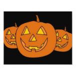 Halloween Pumpkin Personalized Invite