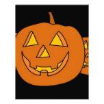 Halloween Pumpkin Personalized Letterhead