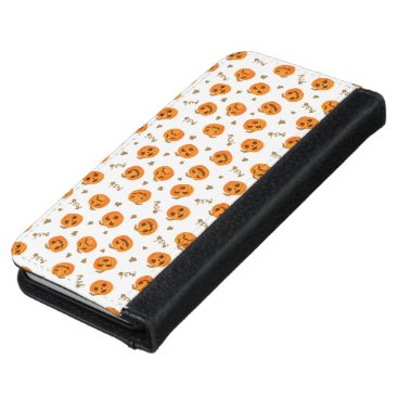 Halloween Pumpkin  Phone Wallet case