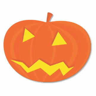 Halloween pumpkin cut out
